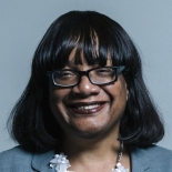Ms Diane Abbott Portrait