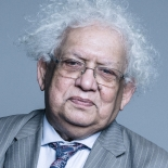 Lord Desai Portrait