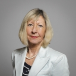 Baroness Wheatcroft Portrait