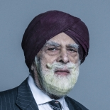 Lord Singh of Wimbledon Portrait